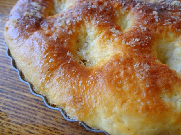 Tarte au sucre lorraine (grandma's sugar bread) | GOURMANDE in OSAKA